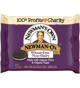 Newman-O's Creme Filled Cookies (dairy-free and vegan review)