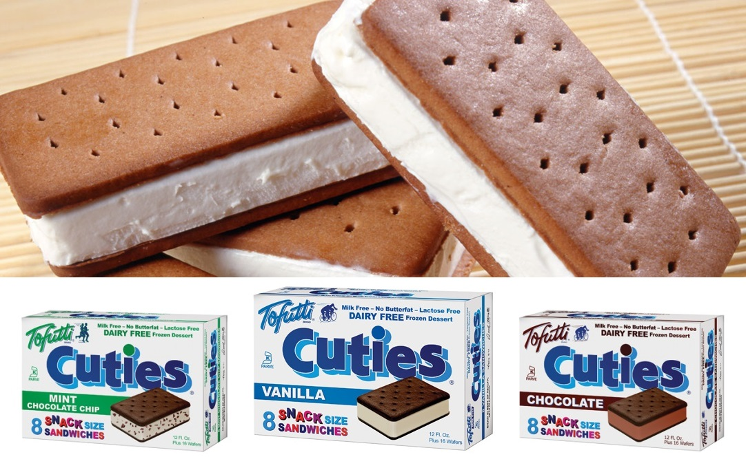 Tofutti Cuties Reviews and Information - the original dairy-free ice cream sandwiches. Pictured: All