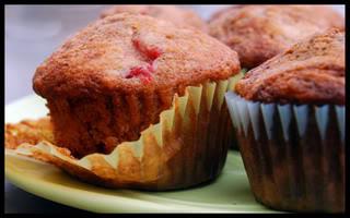 Berry Smash Muffins
