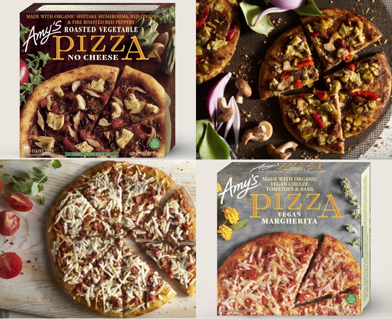 Amy's Frozen Pizzas (Review) - The Vegan, Wheat-Based Varieties!