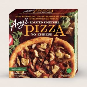 Amy's Dairy-Free Frozen Pizzas Review - Ingredients, Ratings & More Information for all Vegan Amy's Frozen Pizzas made with a Wheat Crust
