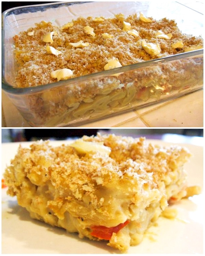 Vegan Macaroni and Uncheese Casserole Recipe (gluten-free option)
