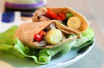 Moo Shu Wraps Recipe - A Fast & Easy Weeknight Fusion Dinner with Gluten-Free, Pork, and Vegan Tofu Options