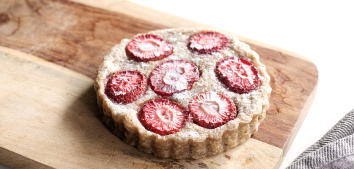 Vegan Strawberry Clafoutis: A Dairy-Free, Egg-Free Spin on a Classic French Dessert