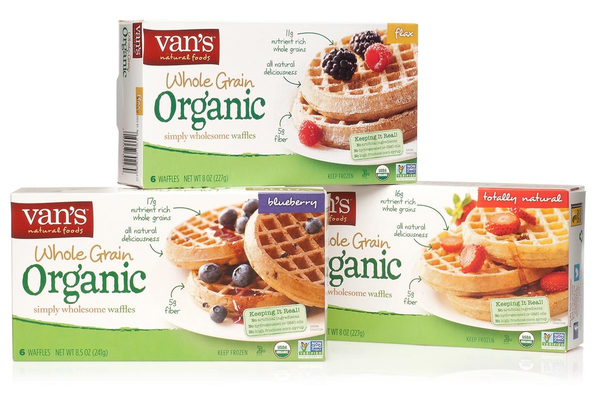 vans gluten free frozen waffles
