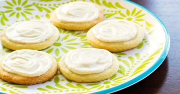 Basic Vegan Sugar Cookies Recipe - Roll and Cut, Easy, and Delicious! Dairy-free, egg-free, nut-free, and soy-free with Vanilla Frosting.