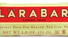 Larabar – Ginger Snap & Cashew Cookie Flavors