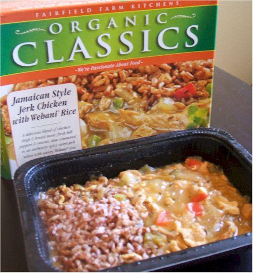 Organic Classics Jamaican Frozen Entree