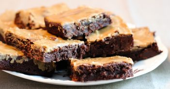 Dairy-Free Espresso Brownies Recipe with Creamy Glaze