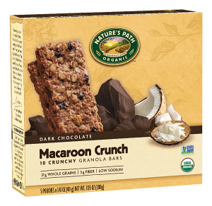Nature's Path Organic Granola Bars - these are a healthier dairy-free take granola bars and available in tons of fun and decadent flavors!