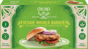 Deep Indian Kitchen Masala Burger from Deep Foods