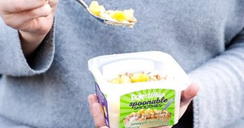 Dole Smoothie Bowls Reviews and Info - Acai Bowls, Dole Whip, and Spoonable Smoothies - dairy-free and ready-to-eat from the freezer. Pictured: Dole Whip