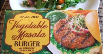Trader Joe's Vegetable Masala Burger Reviews and Info - plant-based, dairy-free, vegan