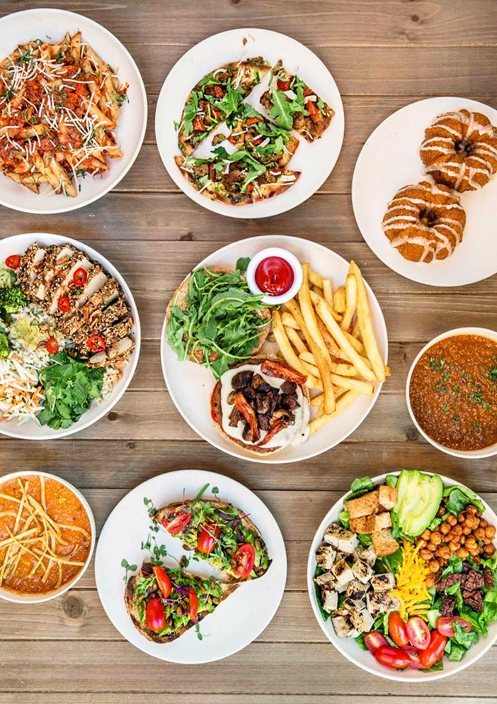Veggie Grill is a fast-casual all-vegan restaurant chain. They serve an array of global flavors in California-style.