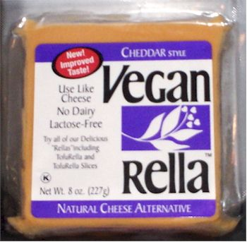 Vegan Rella Natural Cheese Substitute - Cheddar Style