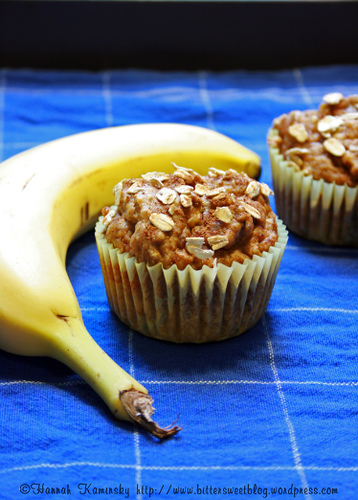 Banana or Pumpkin Spice Muffins