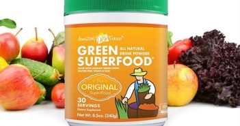 Amazing Grass Green Superfood - All Natural Drink Powders (dairy-free, raw, vegan, gluten-free)