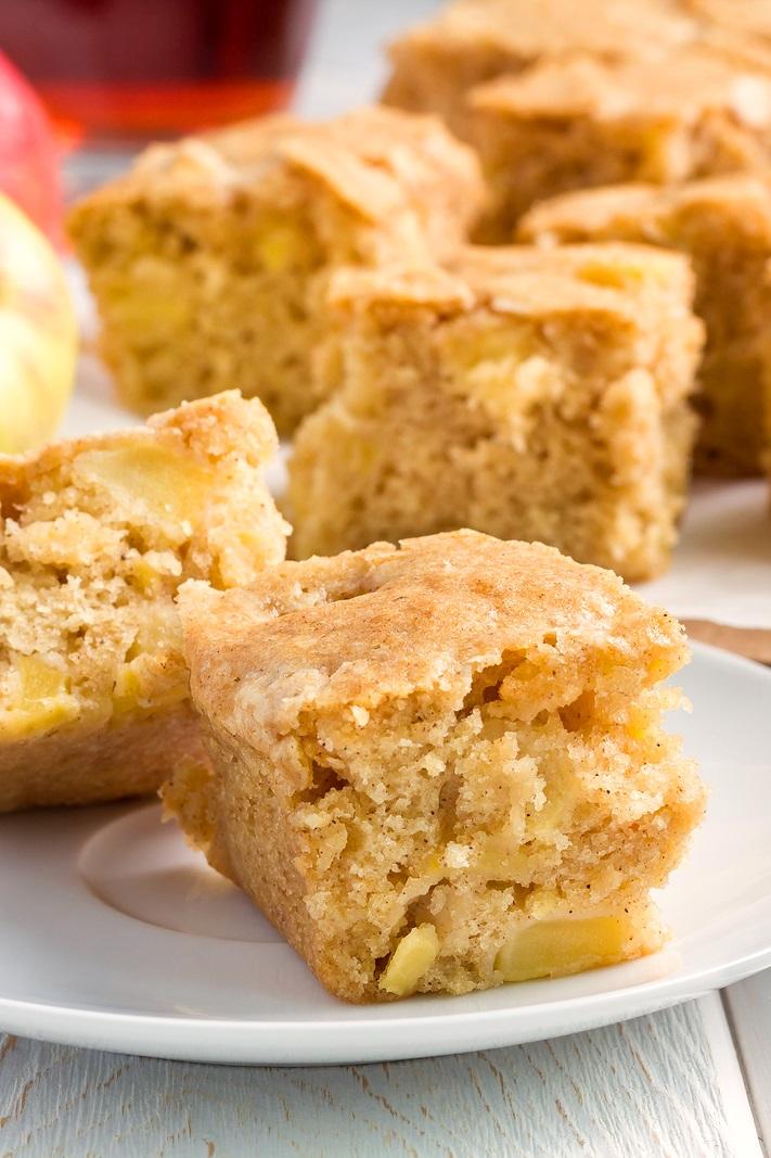 Fresh Apple Cake Recipe (dairy-free version + a vegan option)