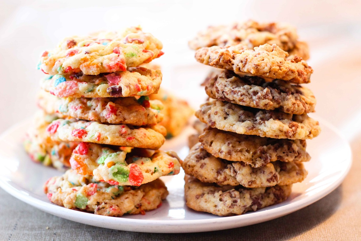 Confetti Cookies Recipe - a super-easy, dairy-free, hack recipe with vegan option! Kid-friendly and party-ready.
