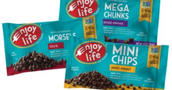 Enjoy Life Chocolate Chips Reviews and Info: Allergy-Friendly Minis, Chunks & Dark Morsels (dairy-free, nut-free, soy-free, gluten-free)