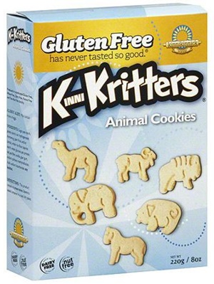 KinniKritters Animal Cookies - gluten-free, dairy-free, nut-free (Traditional, Chocolate or Graham-Style)