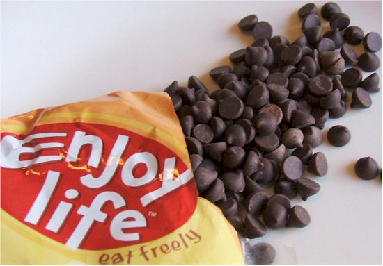 Enjoy Life Chocolate Chips - Mini Chips! (their older packaging)