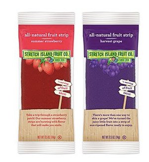 Stretch Island Fruit Leather - these all natural fruit leather strips are a perfect healthy snack for kids or busy adults!