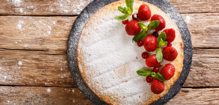 Basic Dairy-Free Sponge Cake, Ready for Your Favorite Toppings