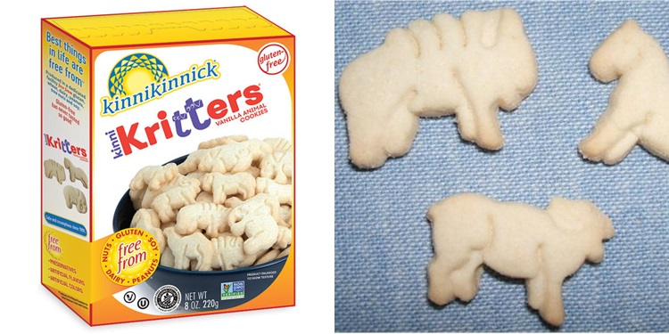 Kinni-Kritters from Kinnikinnick Review and Info - gluten-free, dairy-free, egg-free, nut-free, vegan - kid and adult approved