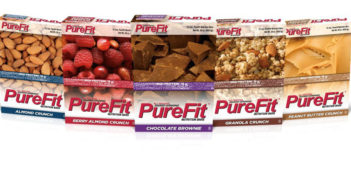 PureFit Nutrition Bars - Non-GMO, dairy-free, vegan protein bar with a 18g of protein! Available in many fun flavors.