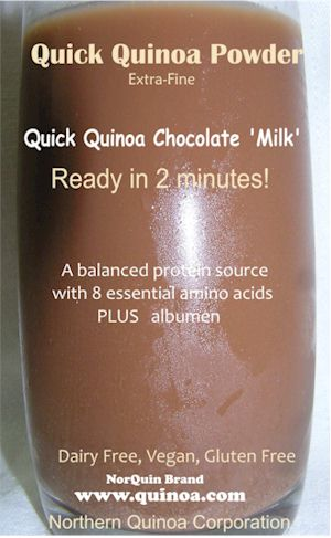 Chocolate Quinoa Milk