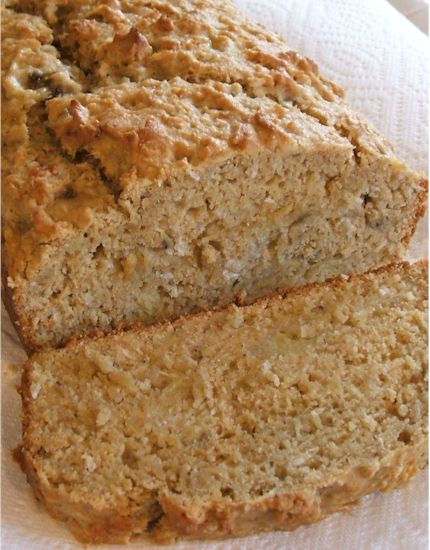 Coconut Banana Loaf - Dairy-Free and Vegan