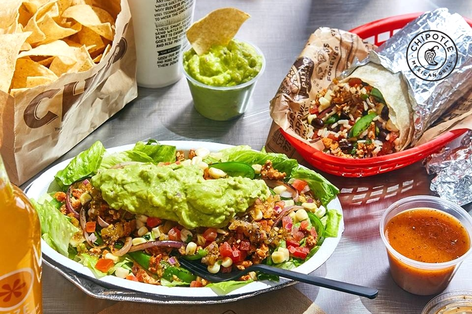 Chipotle Mexican Grill - Dairy-Free Menu Items and Allergen Notes