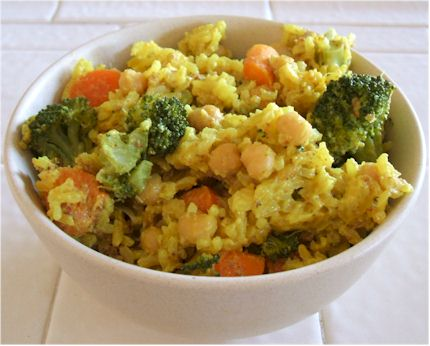 Vegan Curry Rice
