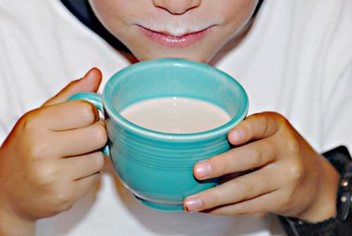 Non-Dairy Milk Mustache