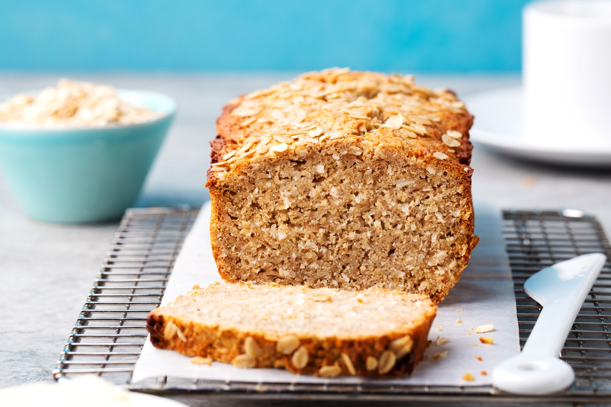 Vegan Banana Coconut Bread Recipe - Eggless, Dairyless, but Moist and Delicious!