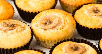 Dairy-Free Banana Mini Muffins Recipe - also nut-free, soy-free, and kid-friendly
