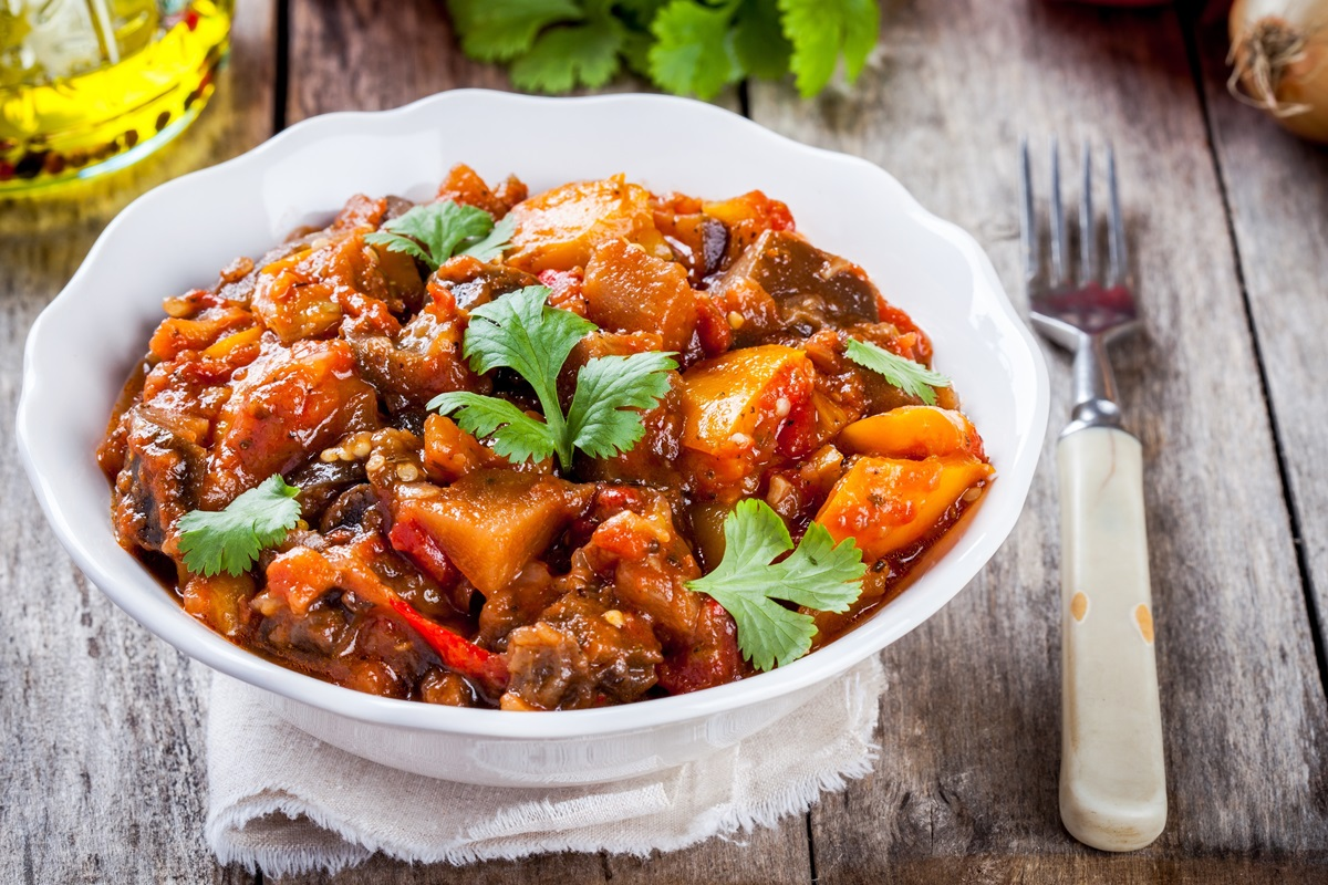 Eggplant Paprikash Recipe: A Fresh Vegan Twist on a Hungarian Classic (includes Tofu Sour Cream recipe; gluten-free with nut-free option)