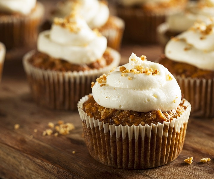 Ginger Carrot Cupcakes Recipe - Dairy-free and Nut-free! A great anytime recipe