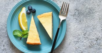Vegan Lemon Cheesecake Recipe with Full Size and Mini Options - dairy-free and egg-free classic, that can be made gluten-free, nut-free, and soy-free