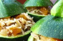 Persian Stuffed Zucchini Recipe - dairy-free, gluten-free, allergy-friendly, with plant-based option