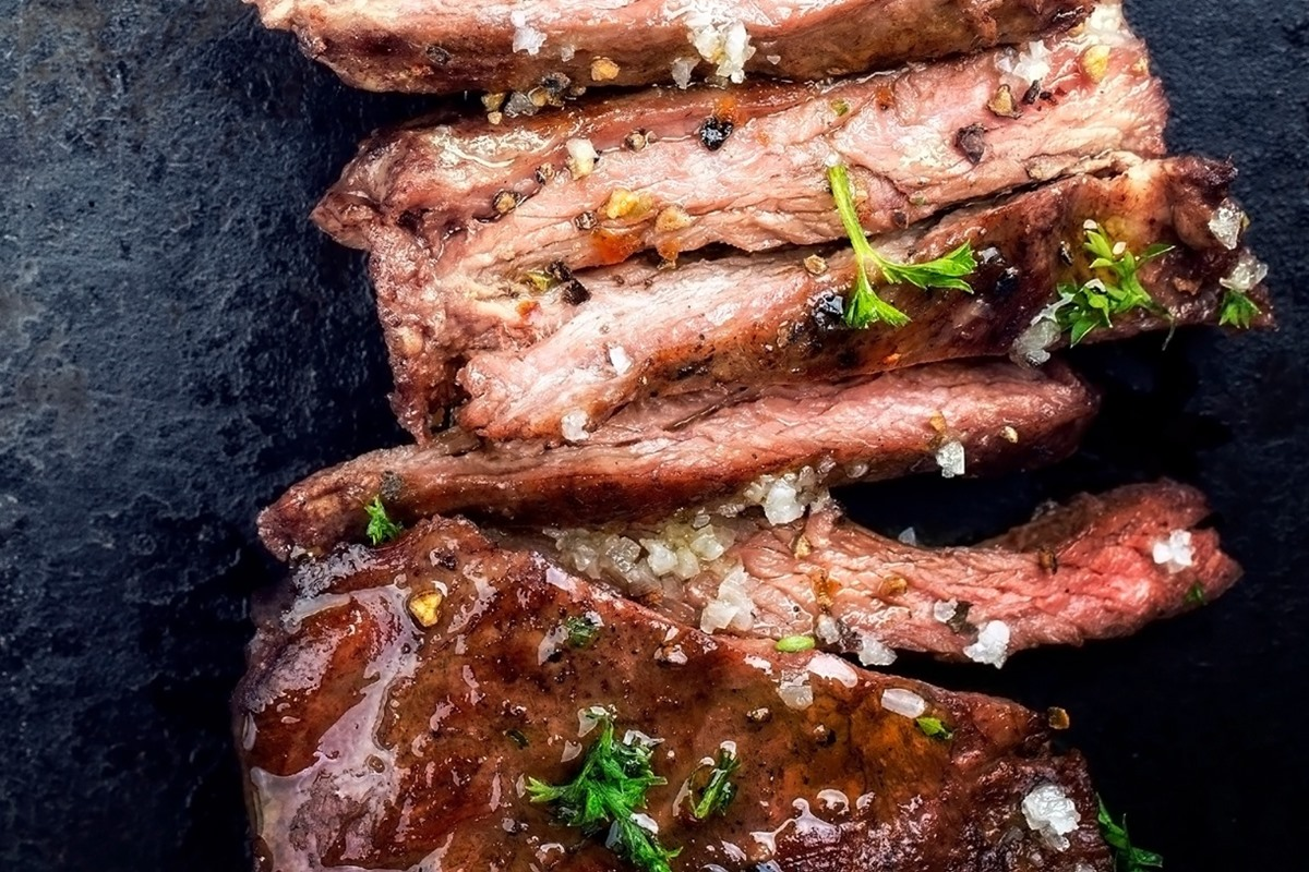 Sweet Ancho-Rubbed Skirt Steak Recipe - Chef Created Kid Favorite! naturally gluten-free, dairy-free, and top food allergy-friendly