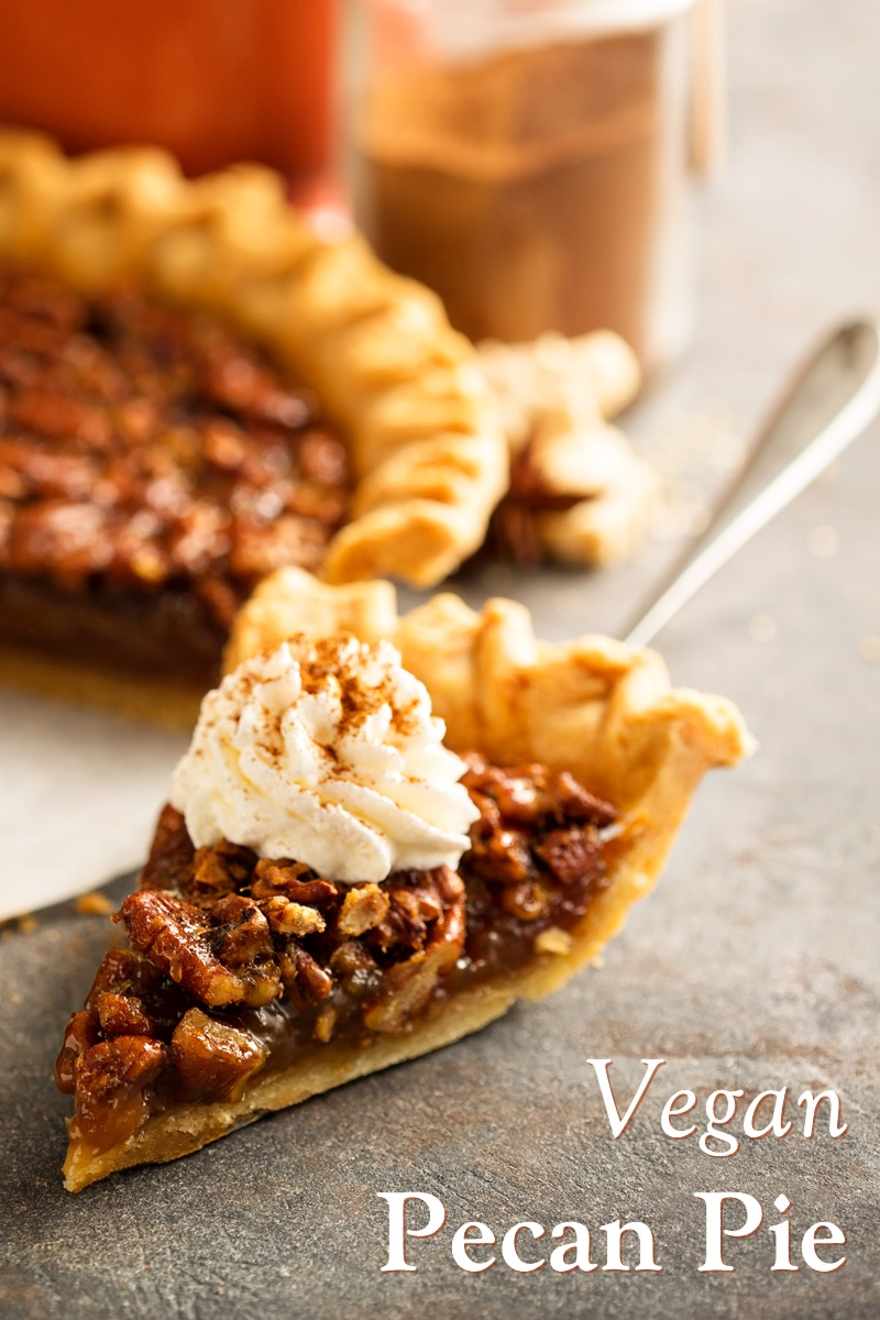 Vegan Pecan Pie Recipe by Chef Eric Tucker of Millennium Restaurant - a Holiday Classic, Rich, Indulgent. Naturally Dairy-Free, Egg-Free, and Soy-Free.