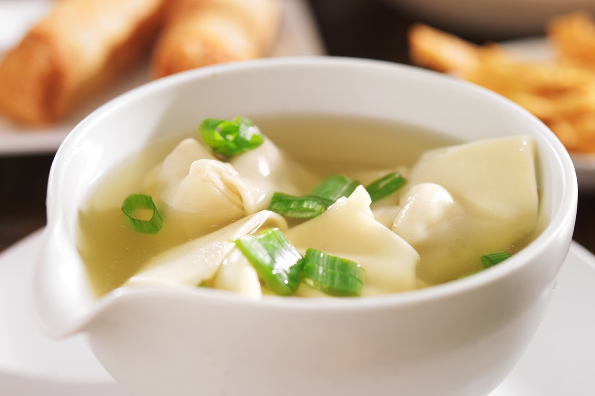 Easy Homemade Wonton Dumplings and Wonton Soup Recipes - a naturally dairy-free and comforting meal