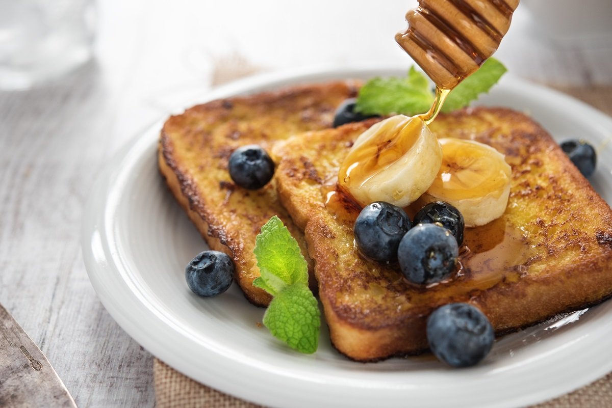 Coconut Banana Vegan French Toast Recipe