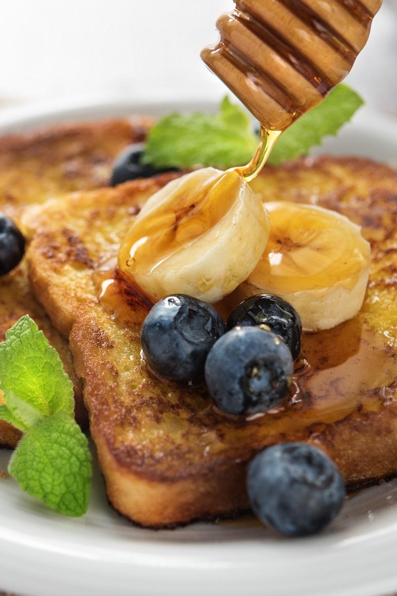Coconut Banana Vegan French Toast Recipe