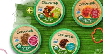 Cedar's Hommus Reviews and Information - 28 dairy-free and kosher pareve flavors, including organic, topped, and dark chocolate!