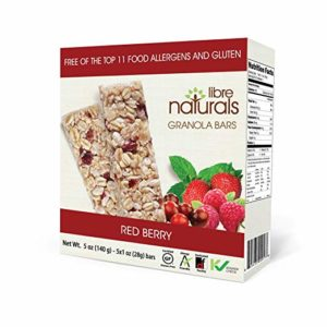 Libre Naturals Granola Bars Review and Information - Top Allergen-Free and Gluten-Free