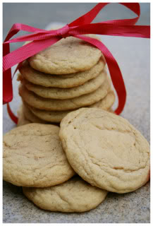 Soft & Chewy Vanilla Butter Cookies - Go Dairy Free