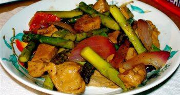 Seitan Vegetable Stir-Fry